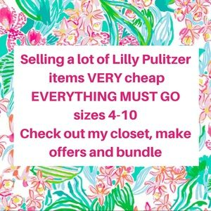 LILLY PULITZER EVERYTHING MUST GO